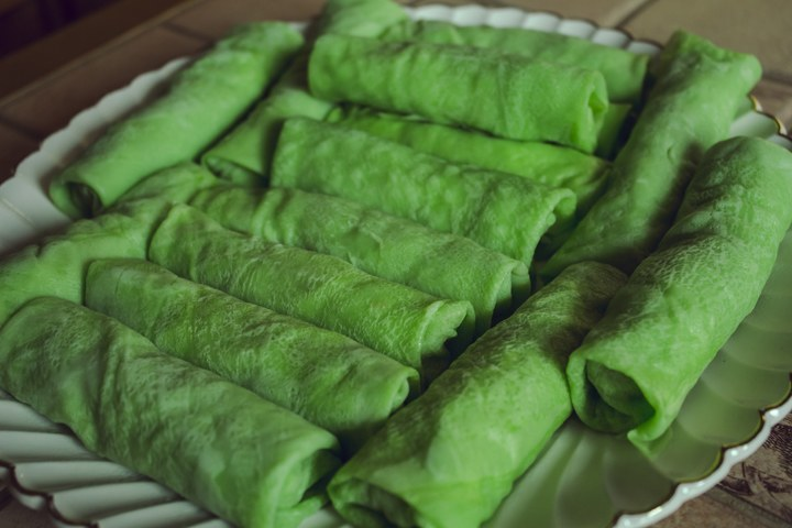 Dadar gulung, kue tradisional khas Indonesia