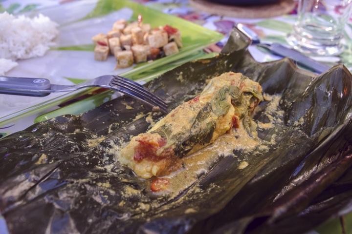 Pepes Ikan Cabillaud
