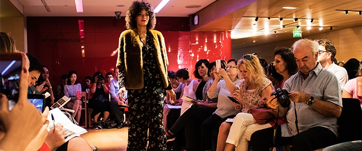 Fashion Show Fall and Winter 2017/18 in Galeries Lafayette