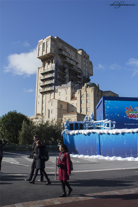 Jalan-Jalan Ke Disneyland Paris-Hollywood Tower