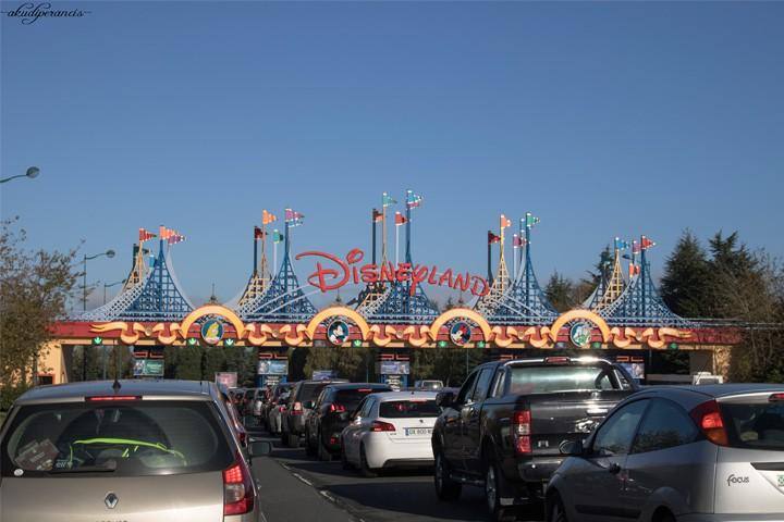 Jalan-Jalan Ke Disneyland Paris-Pintu masuk