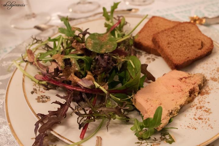 Natal Tahun Ke Tiga di Perancis-Fois Gras