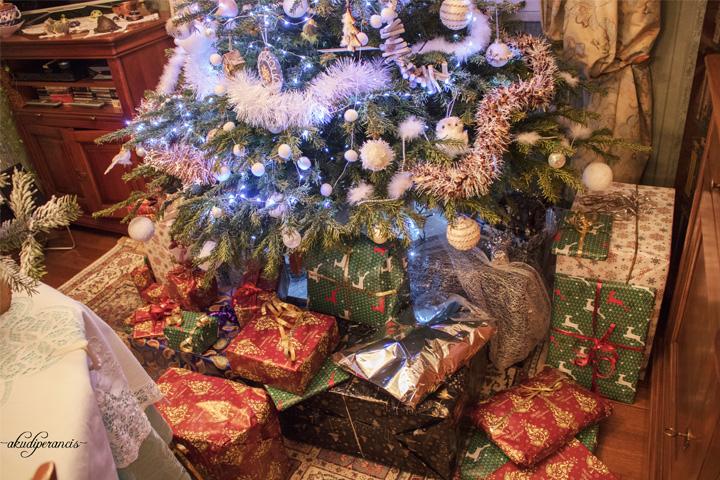 Natal Tahun Ke Tiga di Perancis-Hadiah di rumah ortu si A
