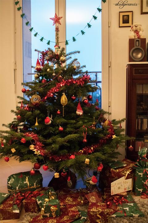 Natal Tahun Ke Tiga di Perancis-Kado kami