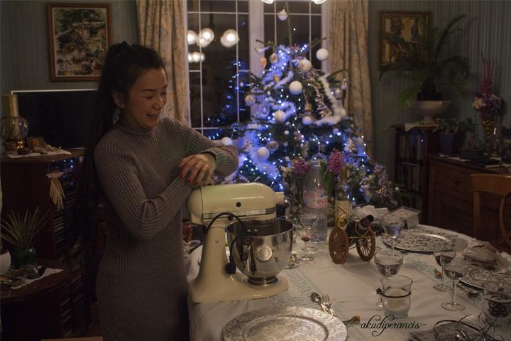 Natal Tahun Ke Tiga di Perancis-KitchenAid-Cream