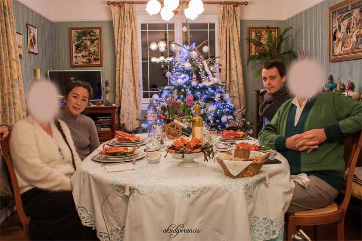 Natal Tahun Ke Tiga di Perancis-Makan Malam