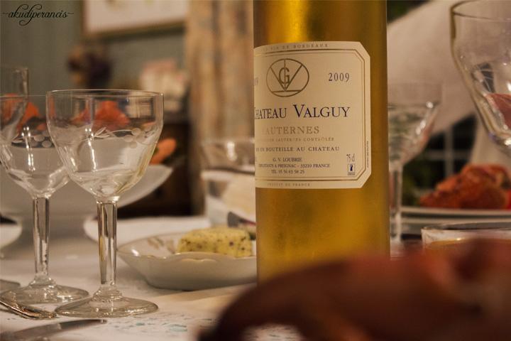 Natal Tahun Ke Tiga di Perancis-Wine