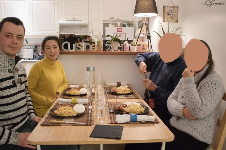 Acara L'épiphanie - la galette des Rois-Makanan utama