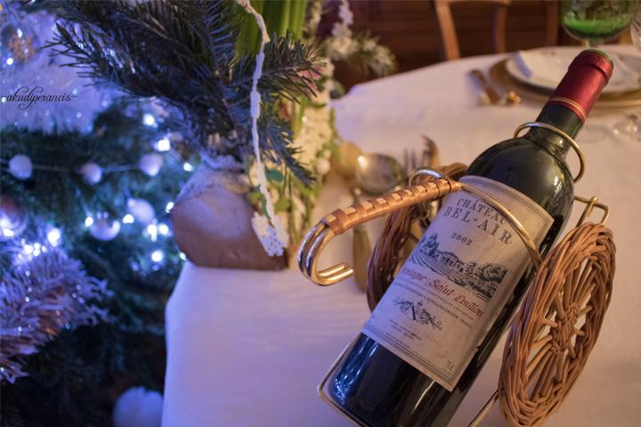 Tradisi Tahun Baru di Perancis-red wine 2002