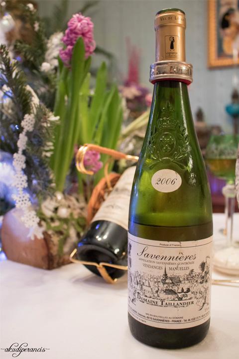 Tradisi Tahun Baru di Perancis-white wine 2006