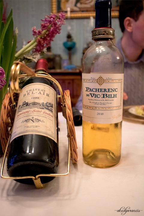 Tradisi Tahun Baru di Perancis-white wine 2010