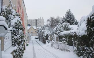 Turunnya Badai Salju Di Sekitar Wilayah Paris