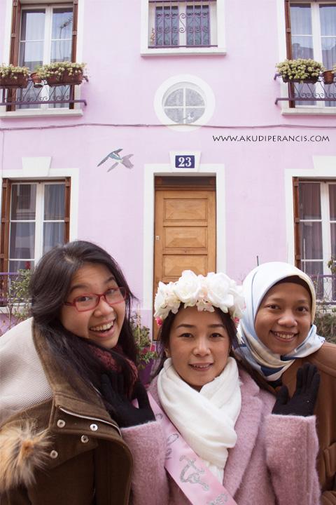 rumah Pink di Paris