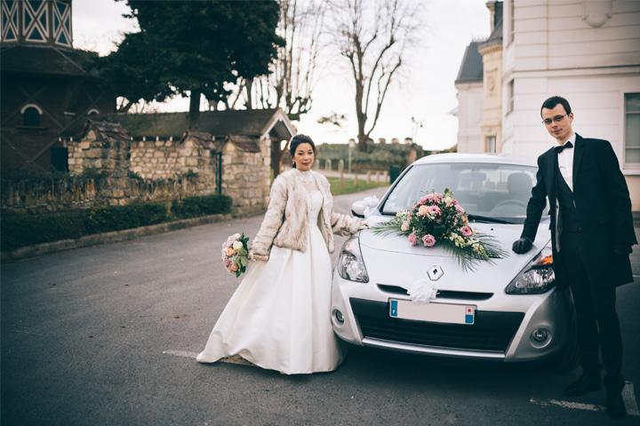 Mobil pribadi jadi mobil pengantin