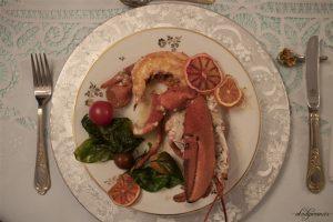 Natal Tahun Ke Tiga di Perancis-Lobster