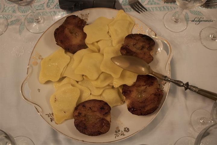 Natal Tahun Ke Tiga di Perancis-Pasta dan Appel