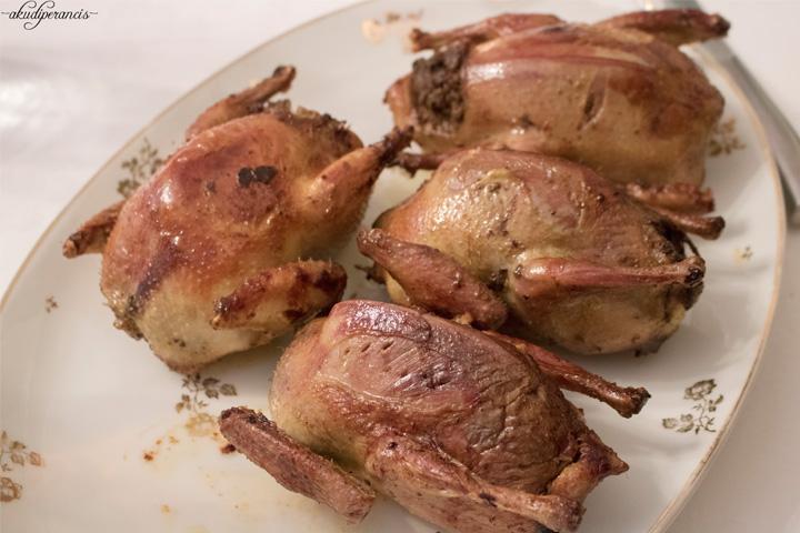 Tradisi Tahun Baru di Perancis-Burung dara panggang