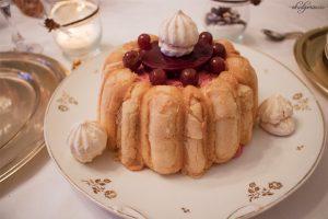 Tradisi Tahun Baru di Perancis-Charlotte aux cerises