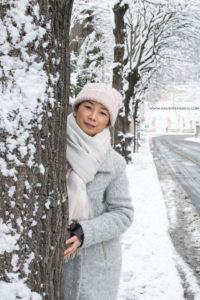 Turunnya Badai Salju Di Paris dan Sekitarnya-menuju taman