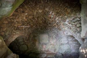 La Grotte des Naïades - pada saat masuk ke dalam goa
