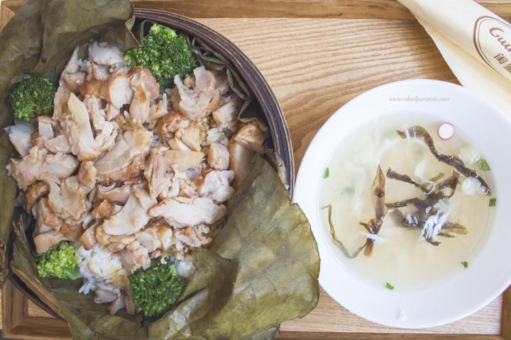 Makanan yang di sediakan di Guimi House