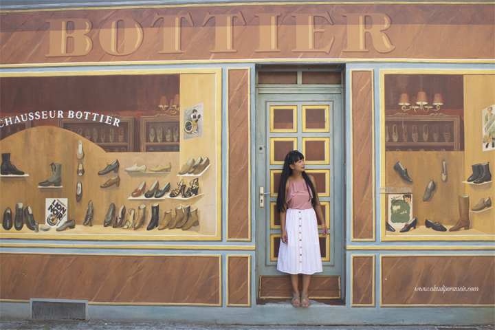 Tempat pengrajin sepatu