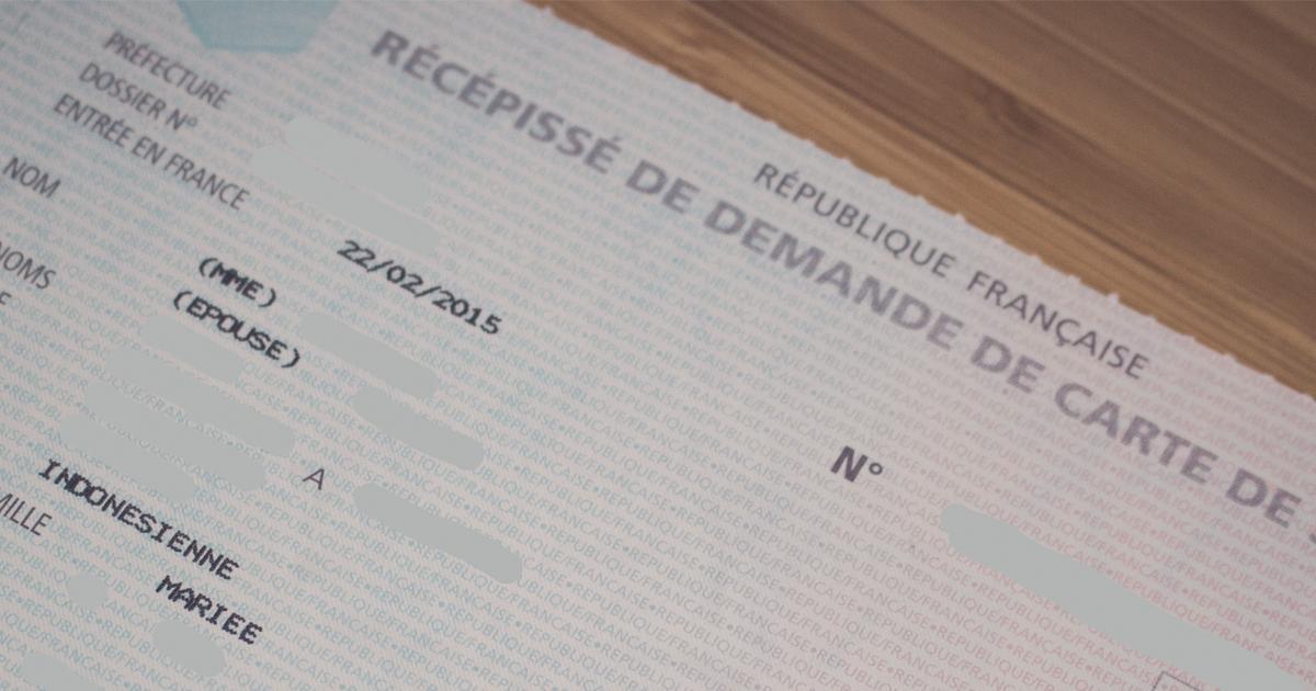 Cara Pergantian Status Visa di Perancis-FB
