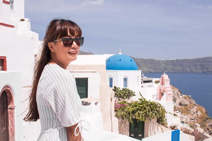 Tips hemat bulan madu ke Santorini 5 hari 4 malam